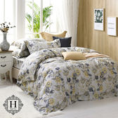 HOYA H Series艾薇塔-特大四件式550織匹馬棉被套床包組