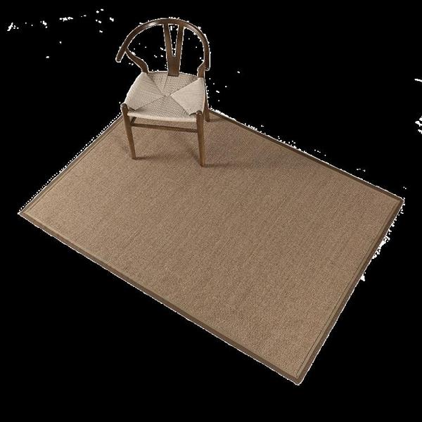 劍麻地毯草編榻榻米麻墊客廳茶幾環保麻地毯麻編臥室陽臺亞麻地墊 8號店WJ