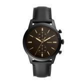 FOSSIL個性潮流時尚皮帶腕錶FS5585
