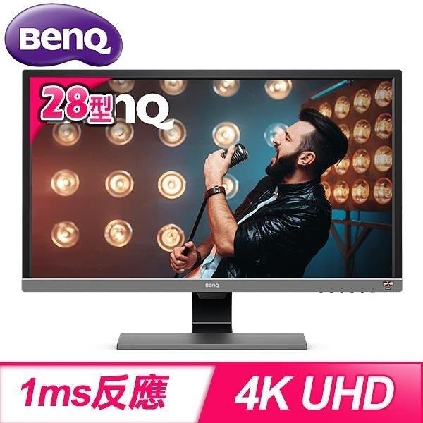 【南紡購物中心】BenQ 明基 EL2870U 28型 4K 舒視屏HDR護眼螢幕