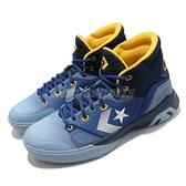 Converse G4 籃球鞋 藍 黃 城市系列 Los Angeles 洛杉磯 男鞋 高筒 【ACS】 170296C