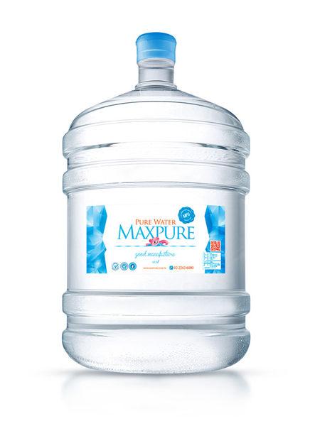 元山立式冰溫熱飲水機+純水20公升20桶