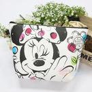 ☆小時候創意屋☆ 迪士尼 正版授權 點點米妮 塗鴉包 側背包 肩背包 收納包 行動電源包 手機包