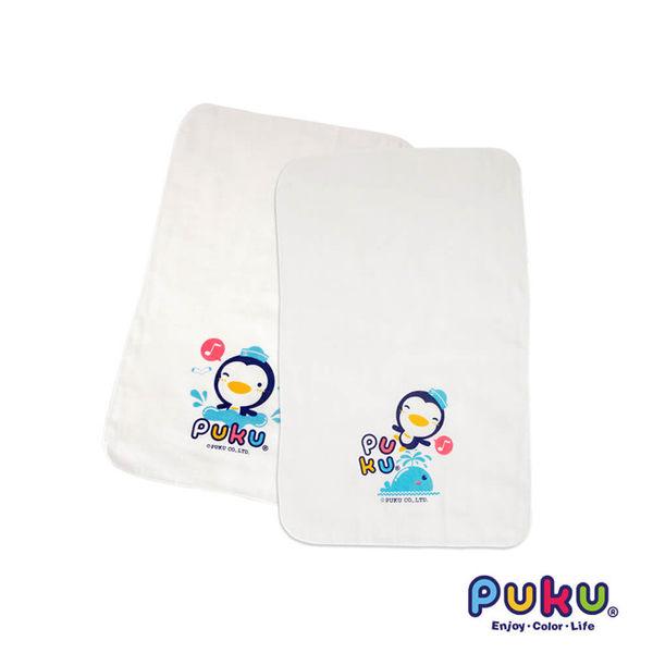 【奇買親子購物網】PUKU 紗布澡巾(2入)