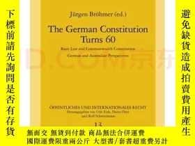 二手書博民逛書店The罕見German Constitution Turns 60: Basic LawY247378 jug