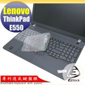 【EZstick】Lenovo ThinkPad E550 系列 專利透氣奈米銀抗菌TPU鍵盤保護膜
