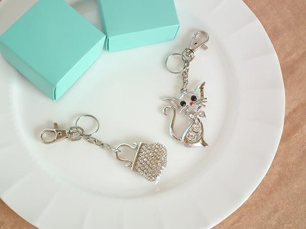 可愛亮晶 掛飾 鑰匙圈 i917ღ