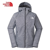 The North Face 男 防風防潑水外套 灰 NF0A3VPK9XY【GO WILD】