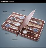 簡約8位拉鏈手錶首飾收納包 PU便攜式旅行手錶收納盒 名表收納包 限時好康八八折