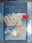 【書寶二手書T1/語言學習_QNV】Reading for Results 8ed_Laraine Hemming
