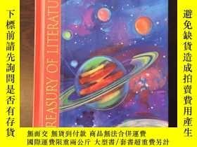 二手書博民逛書店OUT罕見OF THIS WORLD TREASURY OF LITERATURE(16開硬精裝,一厚冊)Y2