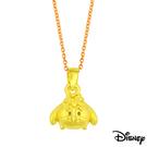 Disney迪士尼金飾 TSUM屹耳 黃金墜子 送項鍊
