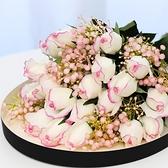 仿真花 手感保濕仿真花假玫瑰花單支 濕感玫瑰花苞 保濕花裝飾花絹花假花20枝