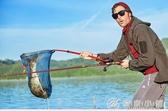佳釣尼奇兵抄網碳素桿抄網竿超硬3米釣魚抄網伸縮釣魚撈魚網兜 YXS優家小鋪