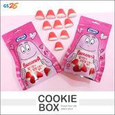 韓國 GS25 泡泡先生 草莓奶油風味 軟糖 70g Barbapapa 糖果 *餅乾盒子*