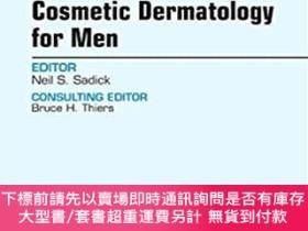 二手書博民逛書店Cosmetic罕見Dermatology for Men,男性皮膚病整形,英文原版Y449990 Neil