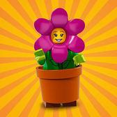 樂高LEGO Minifigures 18 派對主題 人偶組 人偶包 花朵裝女孩 拆袋檢查全新販售 71021 TOYeGO 玩具e哥