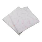康貝 Combi 經典雙層紗布多用途浴包巾-(2入)橘+粉[衛立兒生活館]