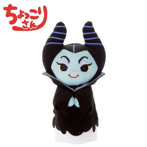 【日本正版】黑魔女 睡美人 迪士尼 排排坐玩偶 Chokkorisan 玩偶 公仔 T-ARTS 拍照玩偶 - 238550