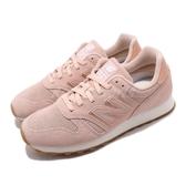New Balance 慢跑鞋 NB 373 粉紅 白 女鞋 運動鞋 麂皮 【PUMP306】 WL373WNHB