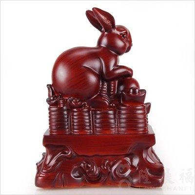 生肖兔 家居工藝品擺件