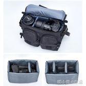 單肩數碼相機包專業單反攝影包復古帆布多功能防水便攜包      韓小姐