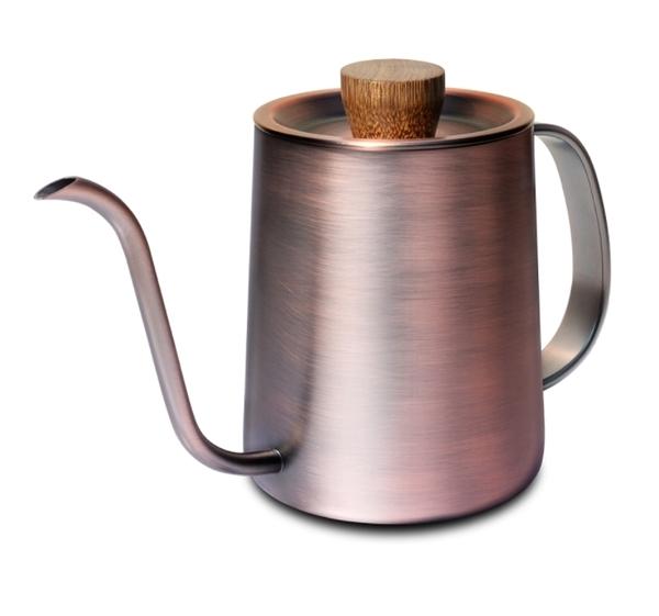 金時代書香咖啡 Driver Superior 細口壺 600ml - 紅銅 DRP-D002283-CO