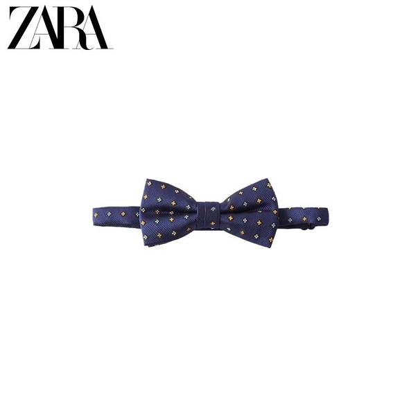 ZARA  童裝男童 春夏新品 菱形紋領結 00653690401 印巷家居