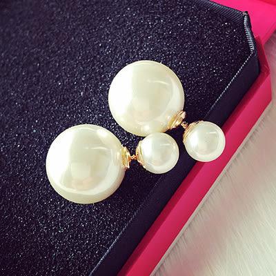 綻放吧女神大牌百搭時尚 珍珠氣質耳環