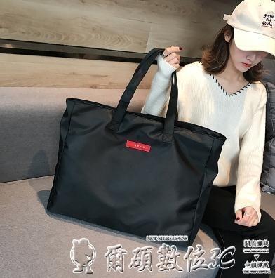 健身包 短途旅行包女手提簡約行李包大容量旅行袋輕便防水側背包健身包男 爾碩 交換禮物