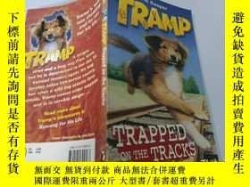 二手書博民逛書店Trapped罕見on the Tracks:困在軌道上Y200392