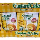 [COSCO代購] C127329 LOTTE樂天 CUSTARD CAKE 卡士達派27.5G*36PK