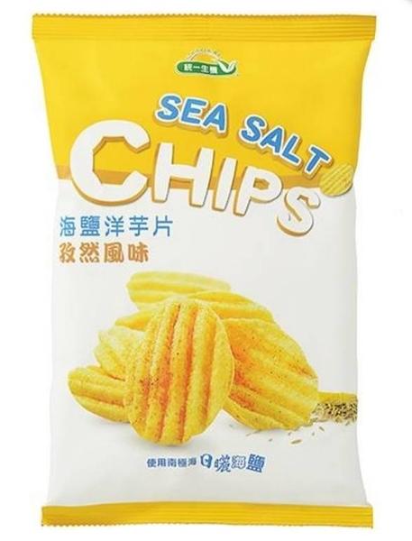 [統一生機] 海鹽洋芋片(孜然風味) 50g