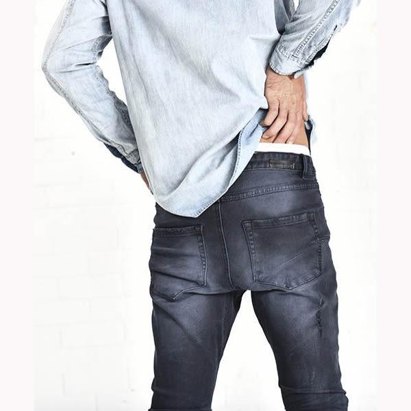 OneTeaspoon 牛仔褲 破褲  MR. BLUES - 男 (黑)