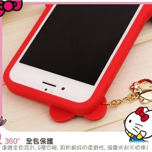 【Hello Kitty】iPhone 6/6s (4.7吋) 可愛2D立體保護套