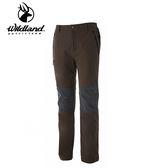 丹大戶外用品【Wildland】荒野 男Re彈性粗曠拼接保暖長褲 型號 0A52362-63 深卡其