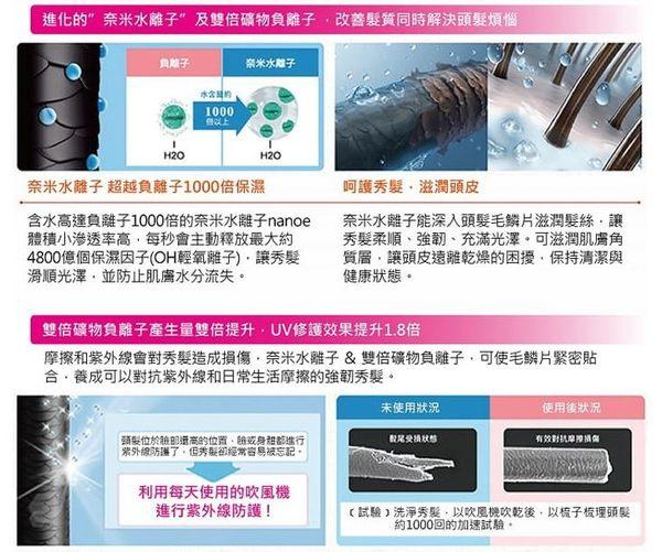 ►New【Panasonic 國際牌EH-NA9A-RP 奈米水離子吹風機 】原廠公司貨