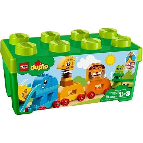 LEGO 樂高 DUPLO My First Animal Brick Box 10863 Building Blocks (34 Piece)