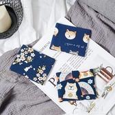 卡包-媛藝復古綁帶卡包多卡位大容量銀行卡套小巧卡片包簡約男女式可愛 花間公主