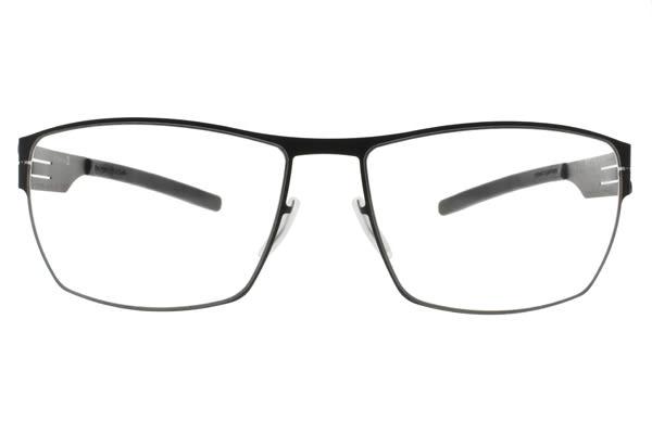 Ic! Berlin 光學眼鏡 KAI M. GRAPHITE (槍) 輕量包覆粗邊款 薄鋼眼鏡 # 金橘眼鏡