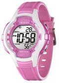 JAGA 捷卡 炫彩俏麗多功能 冷光照明 電子錶 粉紅色 運動錶 學生錶 女錶 日期 計時碼表 M994-DG