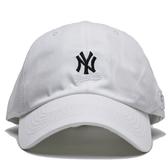 MLB 創信代理 洋基隊 白 黑刺繡LOGO 可調扣帽 男女 (布魯克林) 5762004800