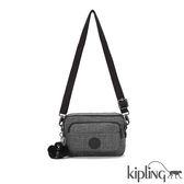 Kipling 淺麻灰素面側背腰包-小