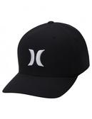 Hurley M HRLY DF OAO HAT BLACK/WHIT-VEGAS GOLD 棒球帽-DRIFIT(男/女)