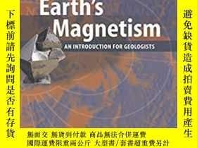 二手書博民逛書店美版精裝罕見The Earth s Magnetism: An