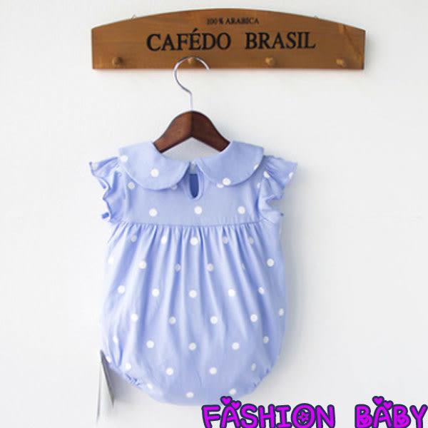 包屁衣 嬰兒服裝可愛點點包屁衣 Fashion Baby