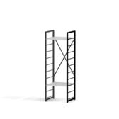 (組)特力屋萊特二層架黑框/白板-40x40x128cm
