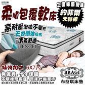 【布拉琪床墊】諾貝達 約菲爾 三線獨立筒床墊 比利時天絲棉布 高耐壓軟料泡棉款 透氣舒適軟床