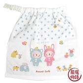 【日本製】【anano cafe】日本製 嬰幼兒大尺寸圍兜兜 藍色 SD-2949 - 日本製