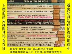 二手書博民逛書店Fun罕見With系列:Cookery、Design、Hi-Fi